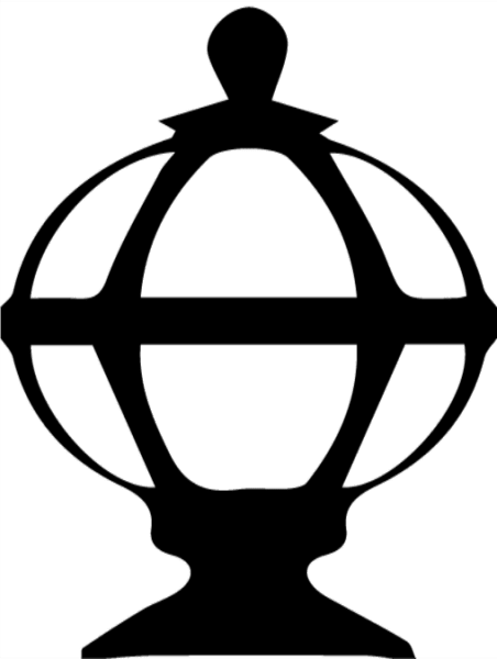 Globe Light Library Logo