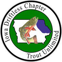 Iowa Driftless Chapter Trout Unlimited Logo