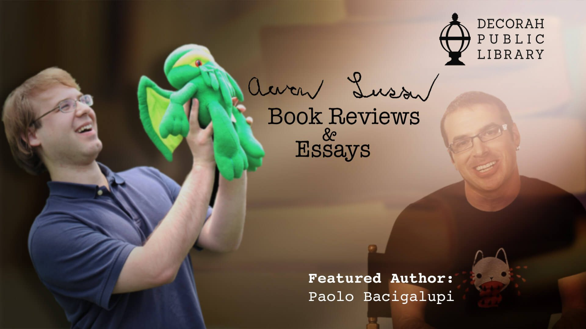 Aaron Larson Book Reviews & Essays