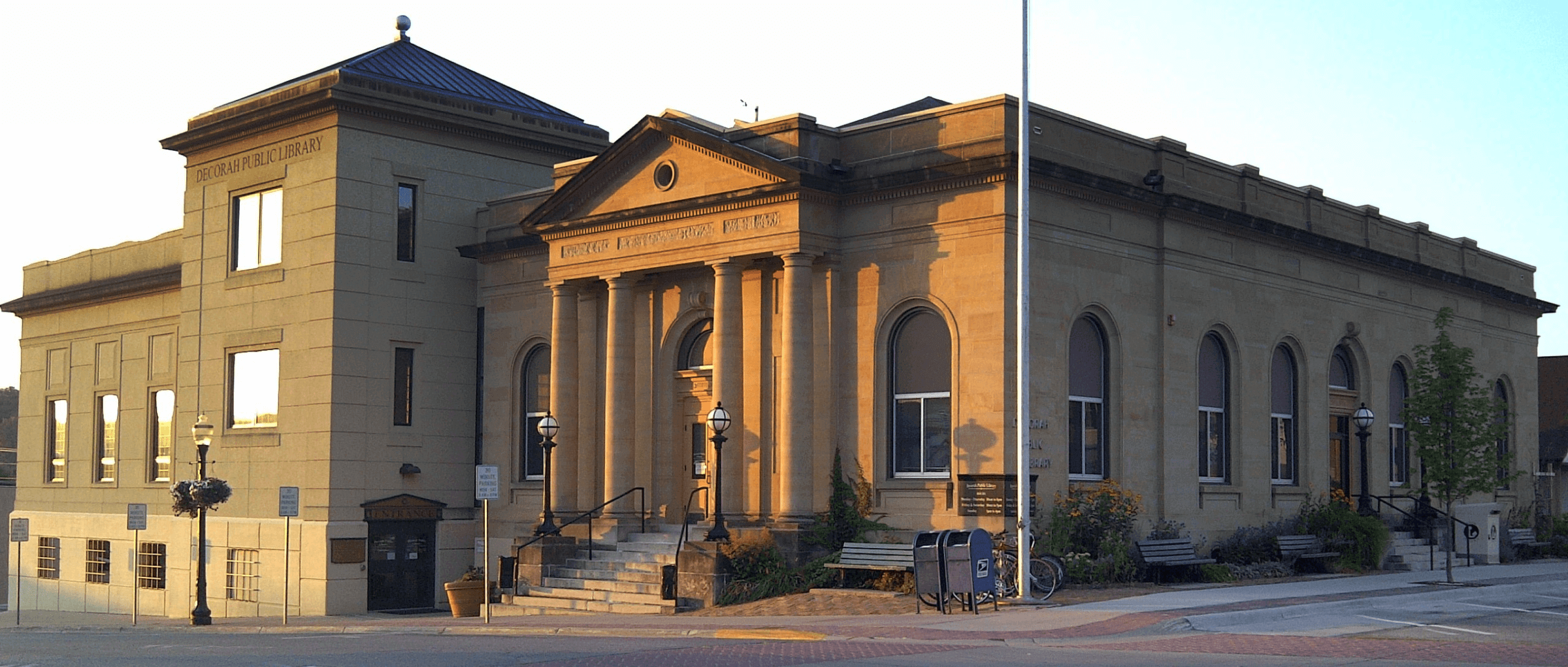 Decorah Public Library Building Exterior