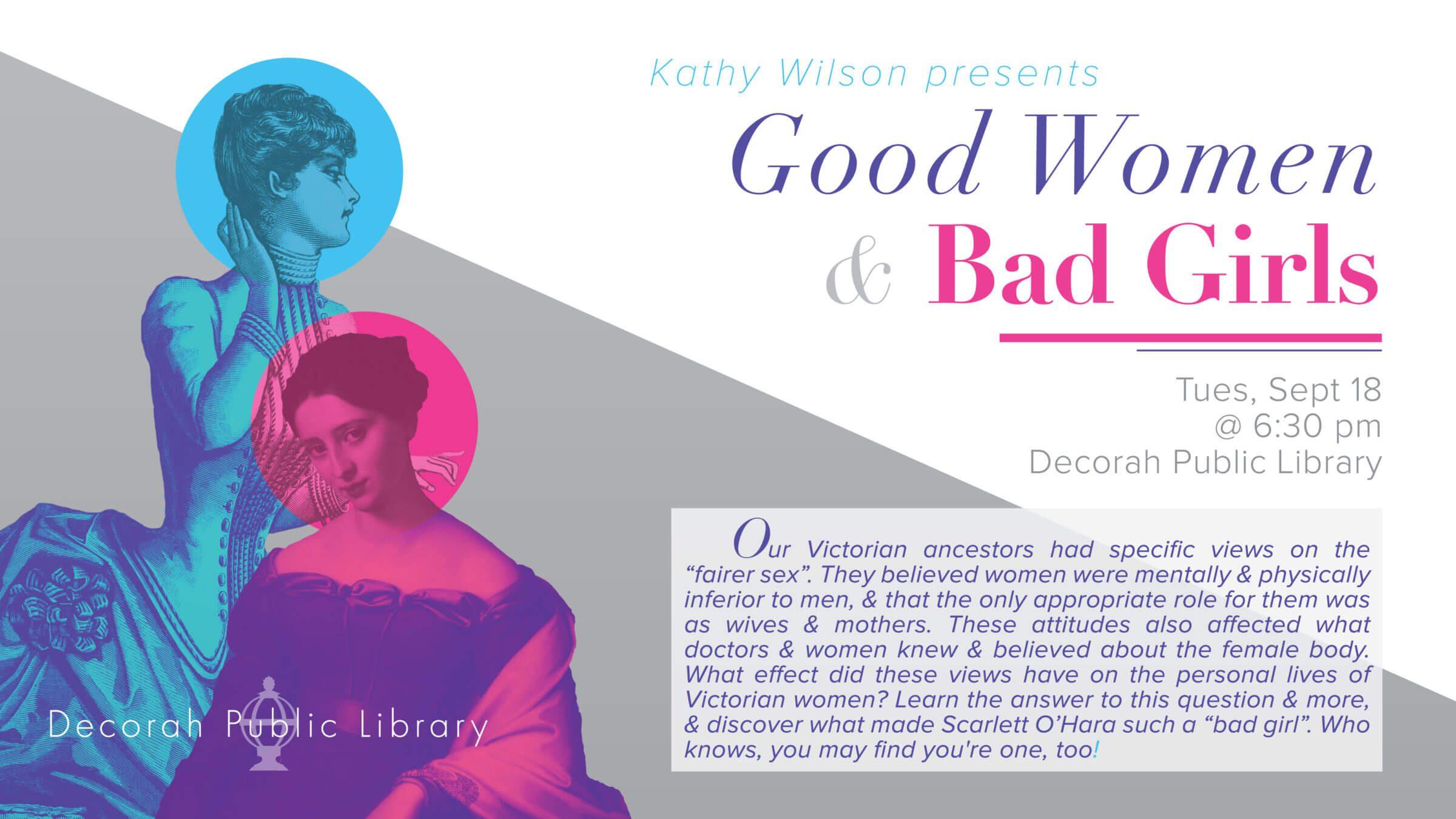 Good Women & Bad Girls Presentation