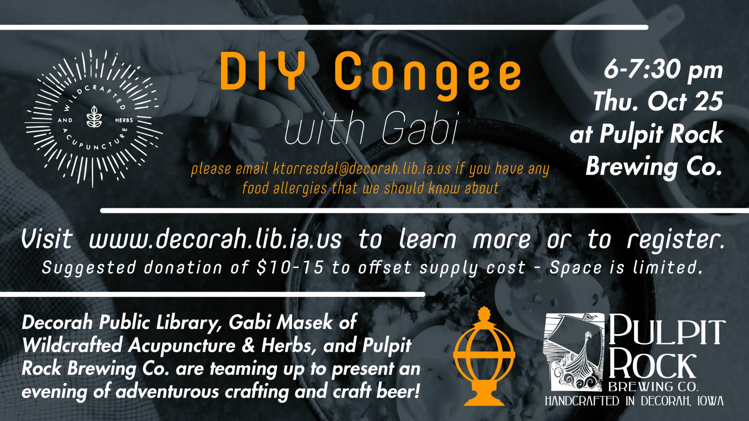 DIY Congee with Gabi