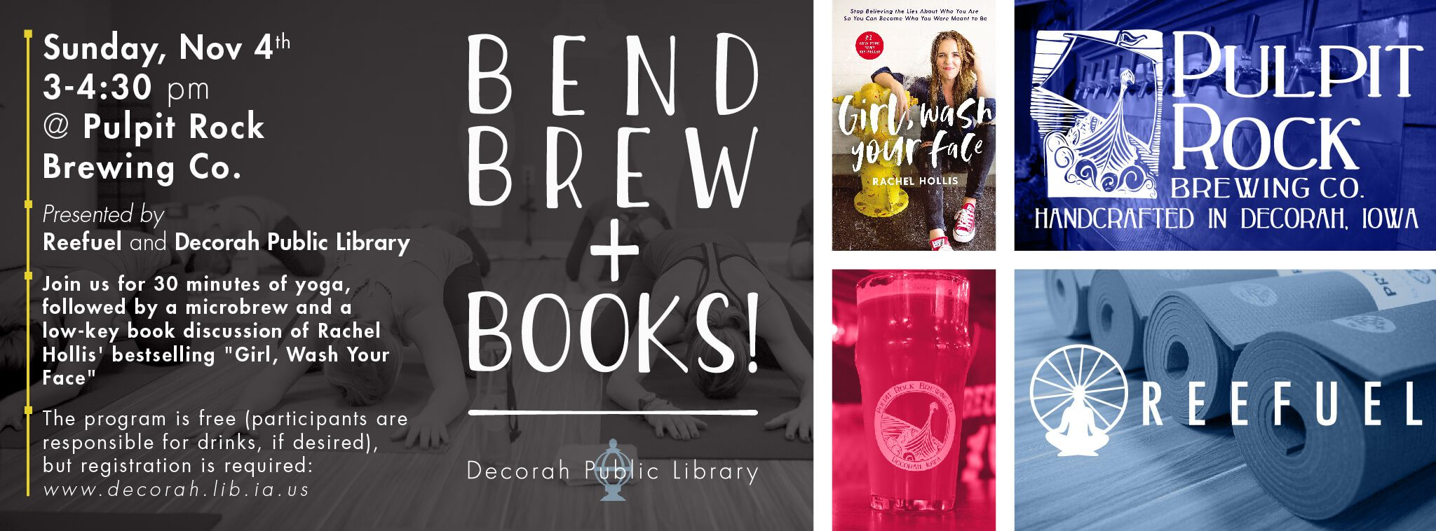 bend, brew and books