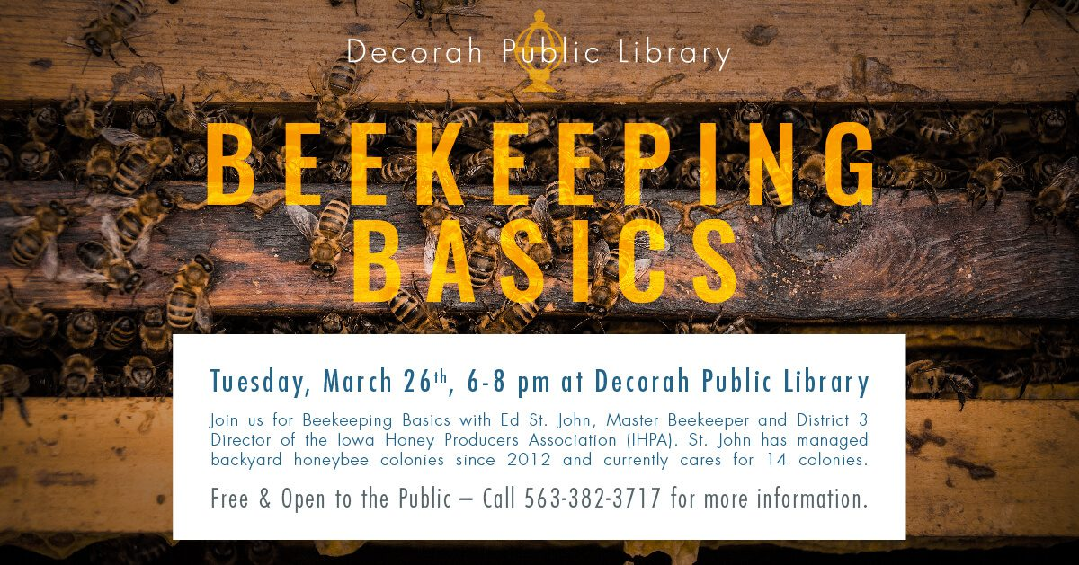 Beekeeping Basics March 26