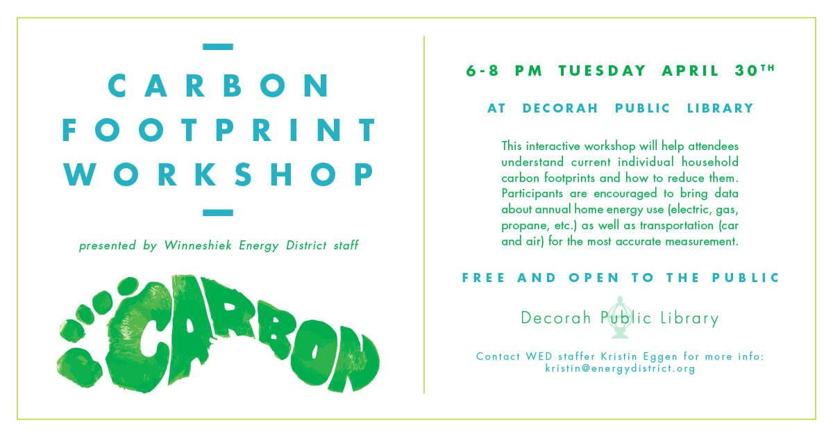 Carbon Footprint Workshop