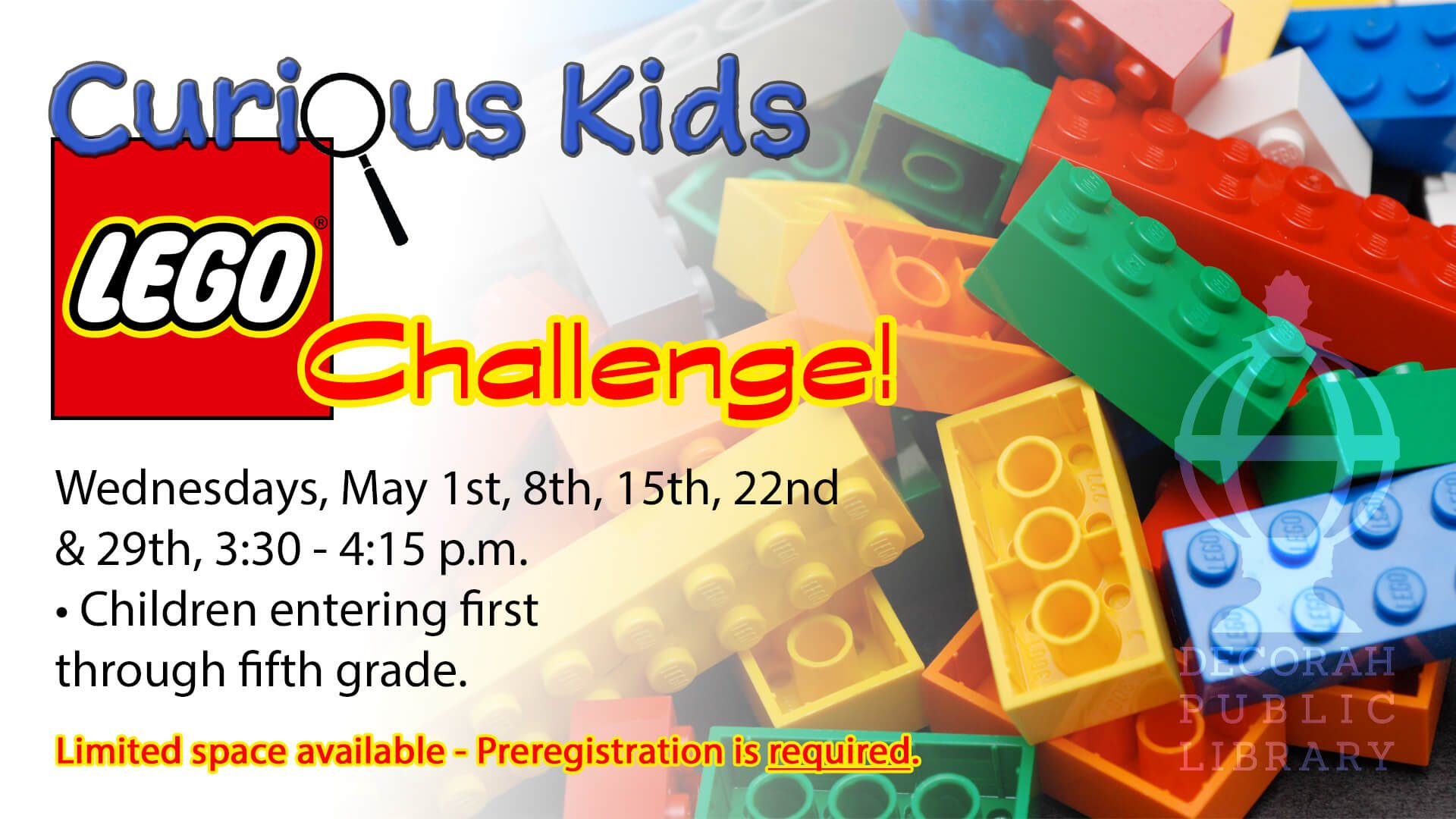 Curious Kids Lego Challenge