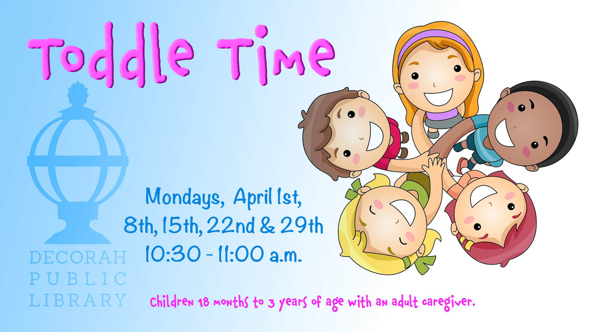Toddle Time Decorah Public Library