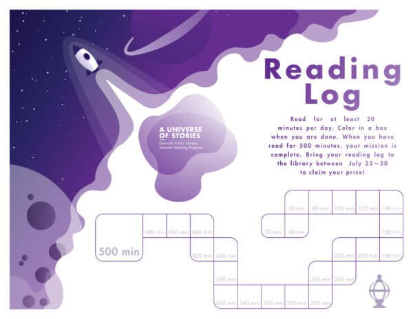 Summer Reading Program Reading Log