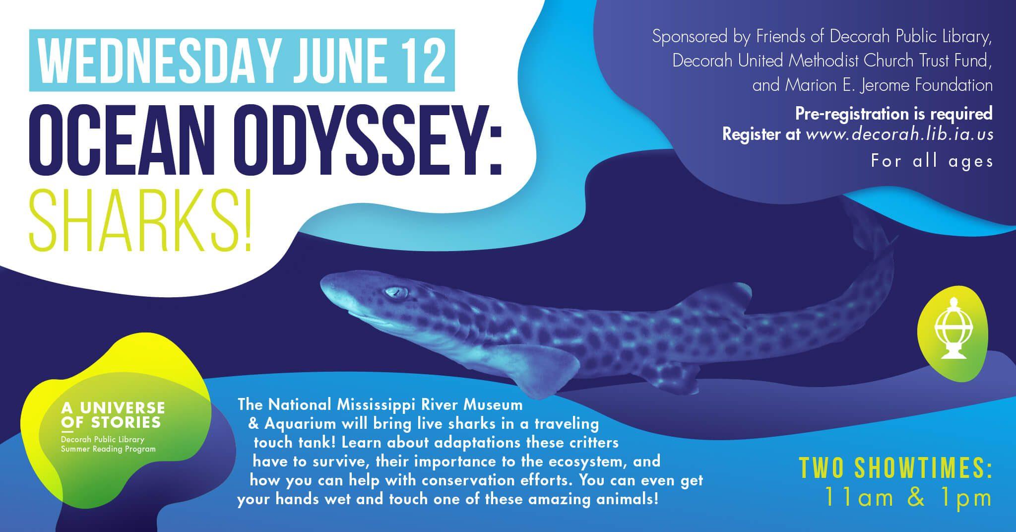Ocean Odyssey: Sharks!
