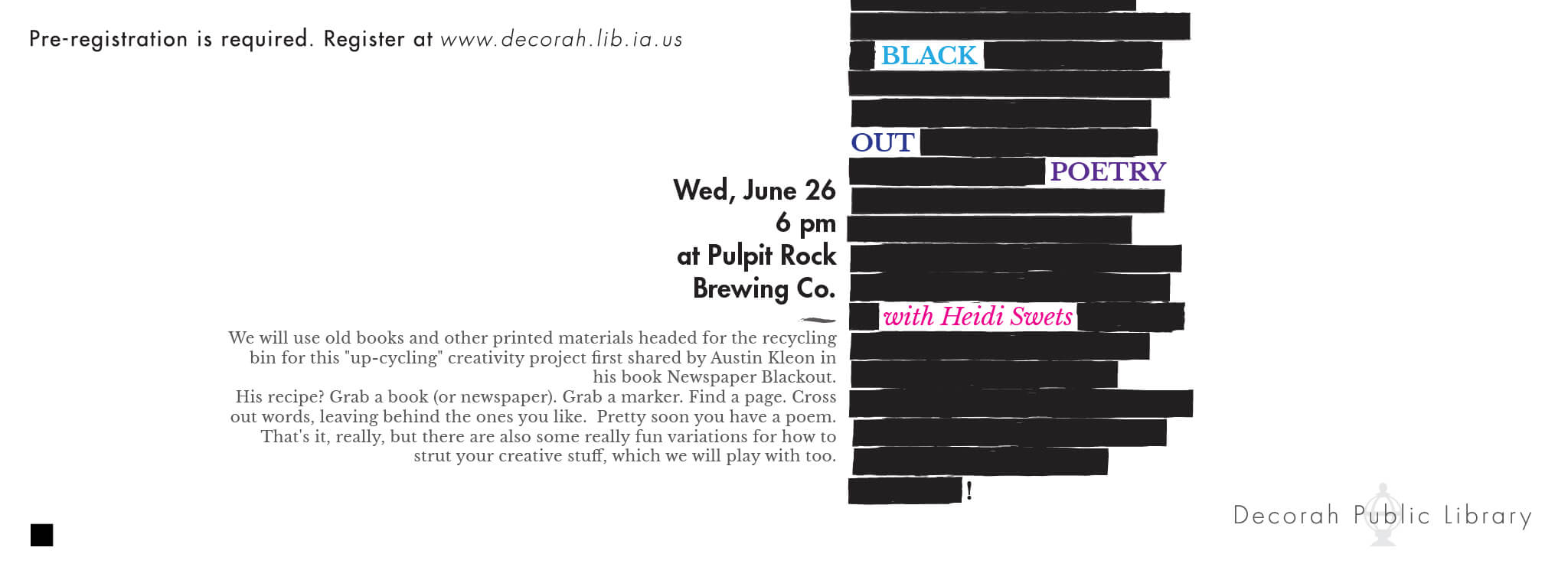 Black Out Poetry June 26th