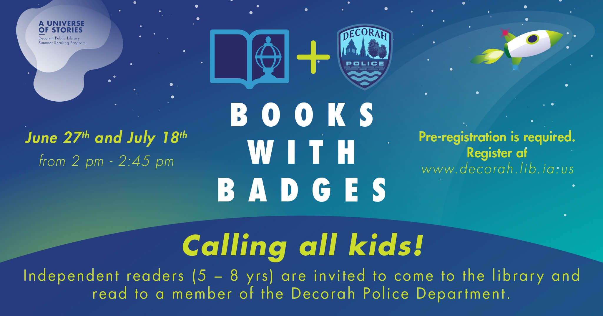Books with Badges