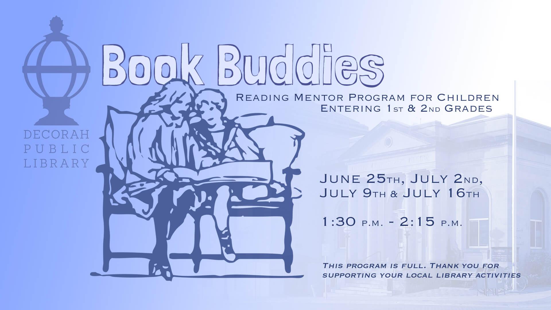 Book Buddies Program