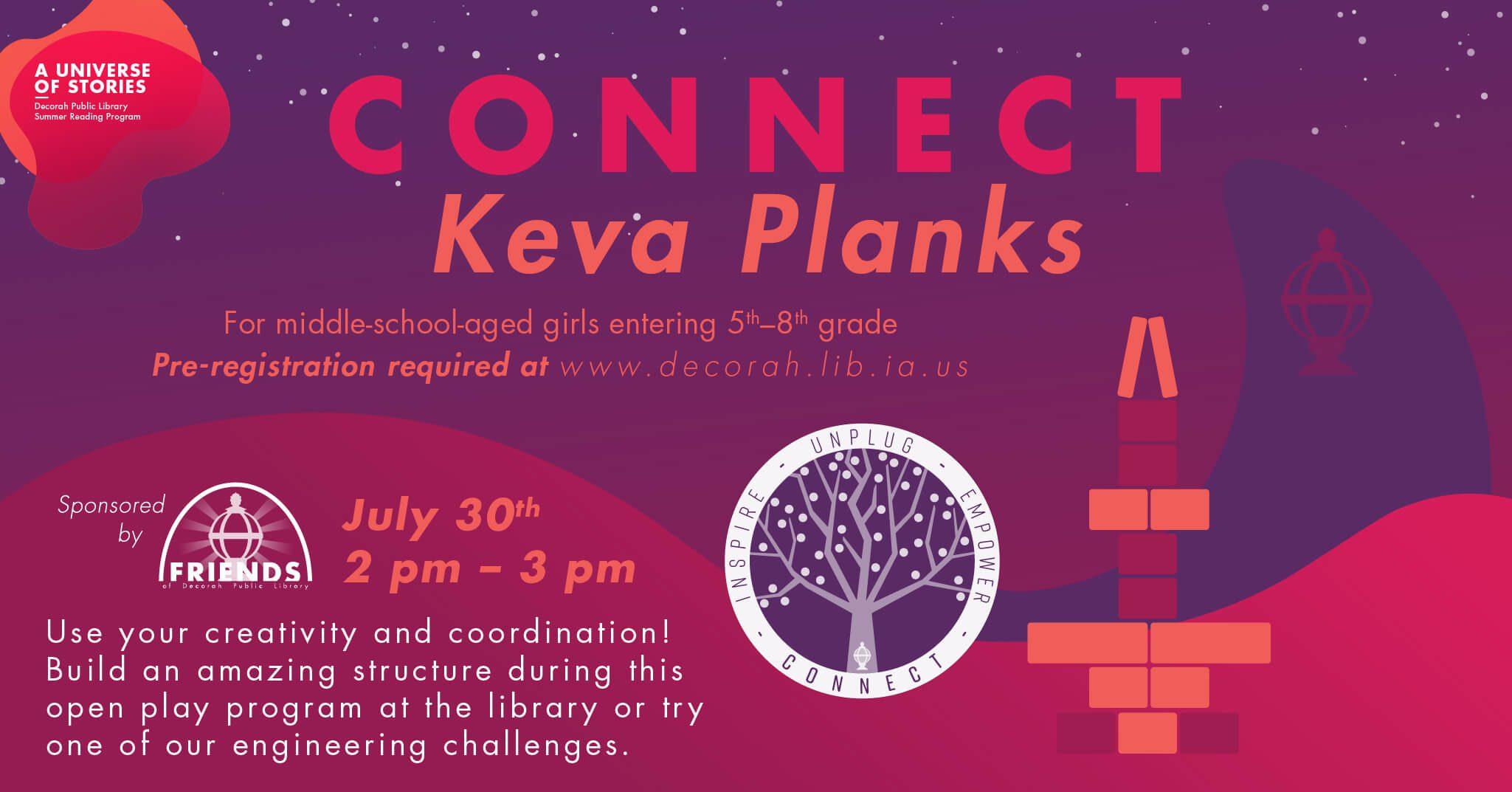 Connect: Keva Planks