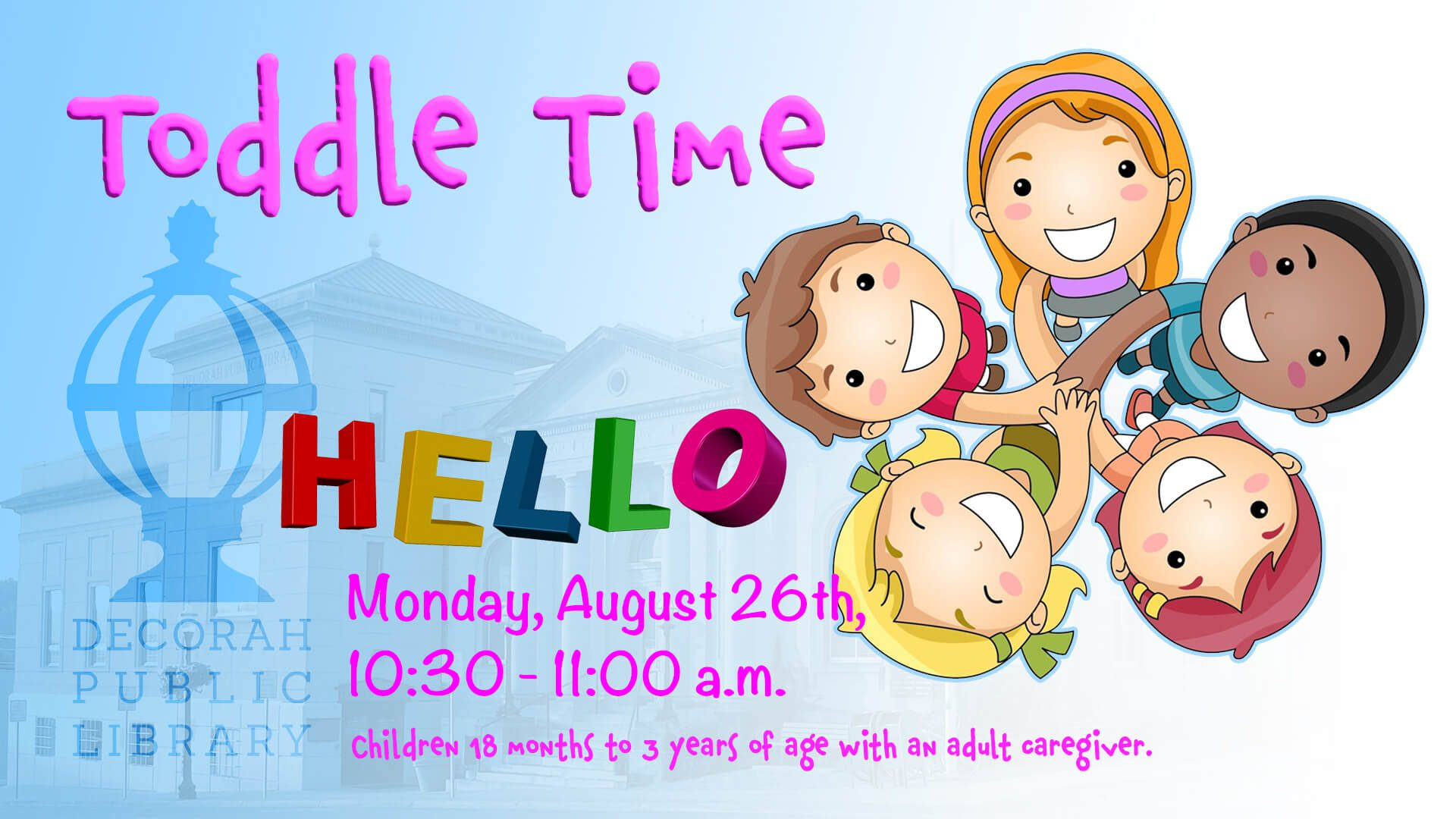 ToddleTime Aug 26