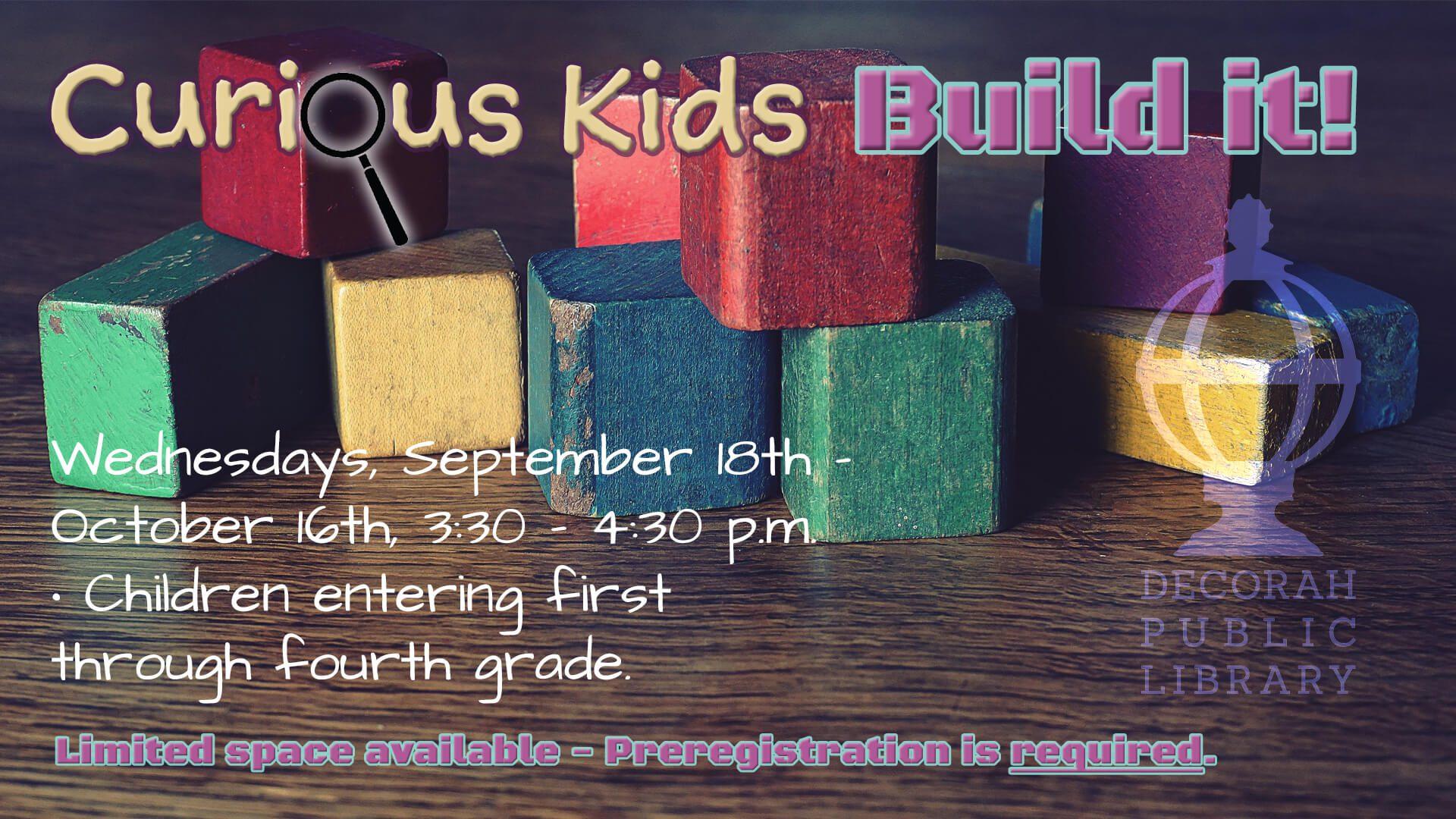 Curious Kids Build It