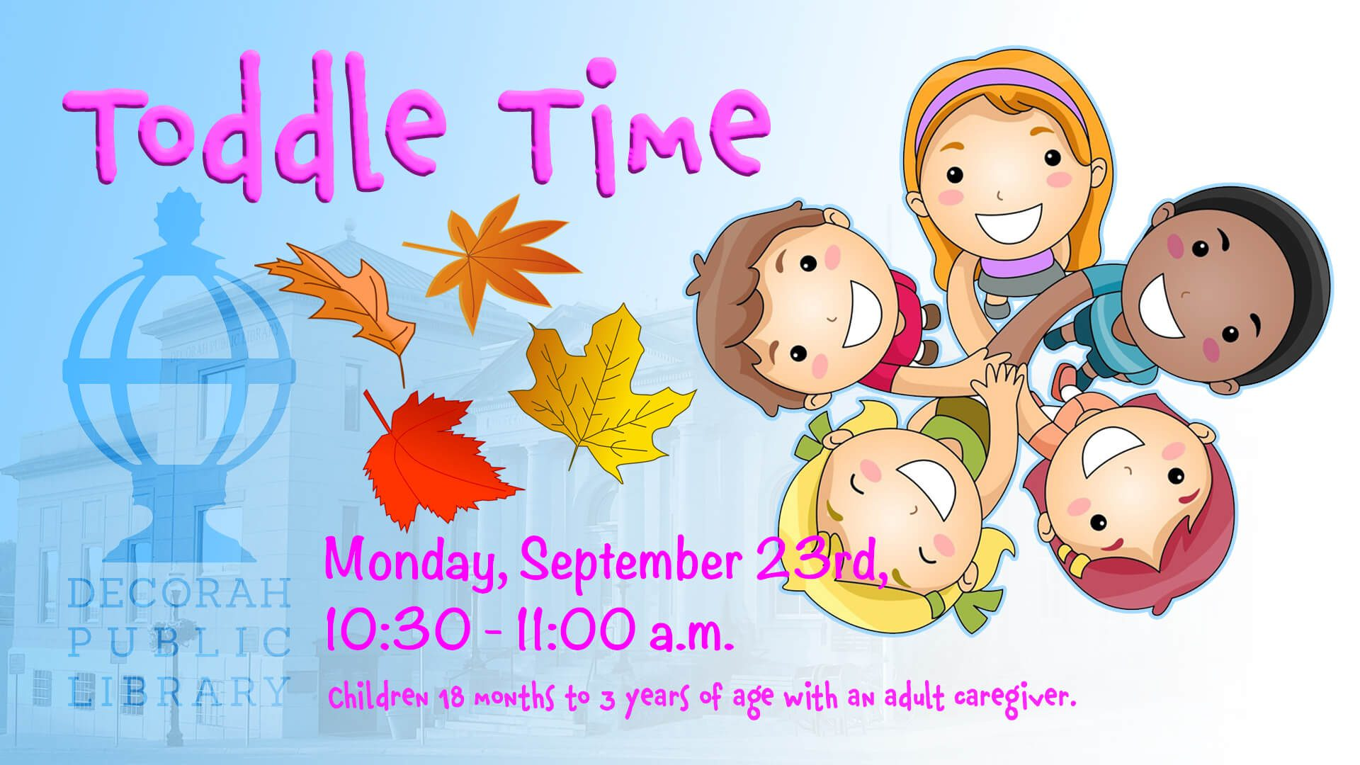 Toddle Time Sep 23