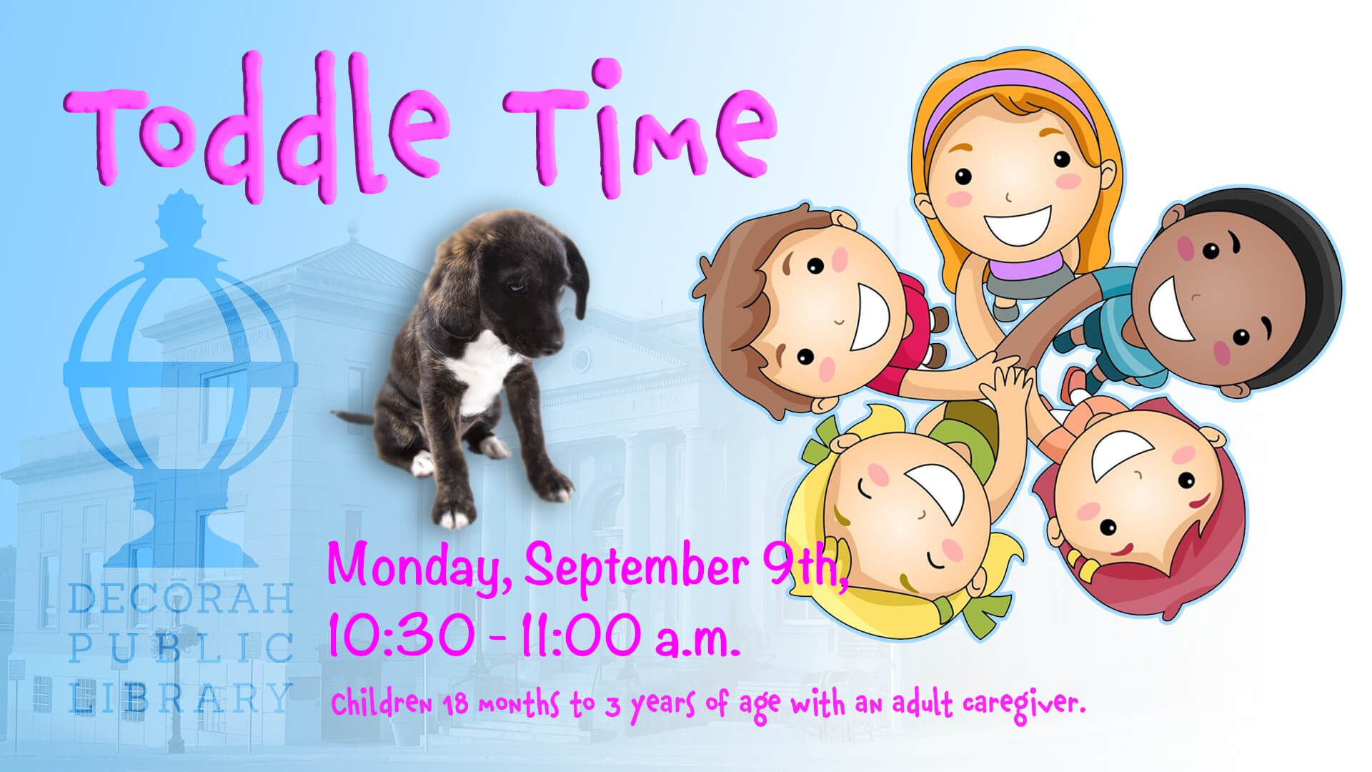 Toddle Time Sep 9