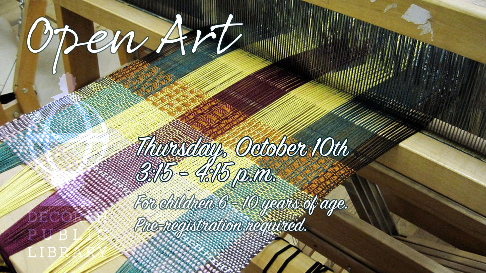 Open Art Oct 10