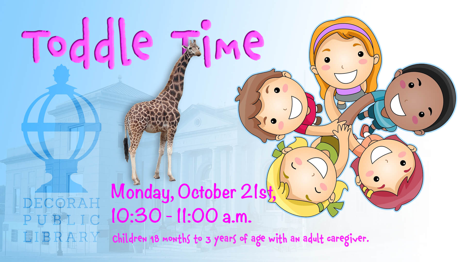 Toddle Time Oct 21