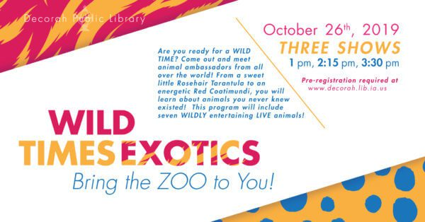 Wild Times Exotics Oct 26th
