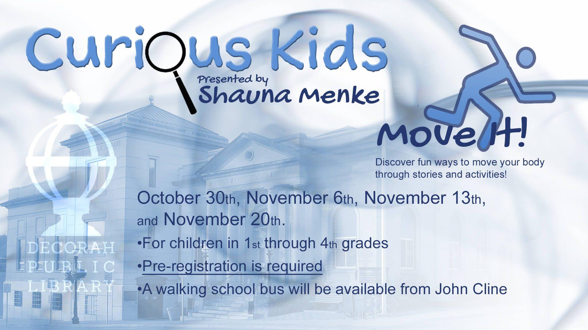 Curious Kids Move It!