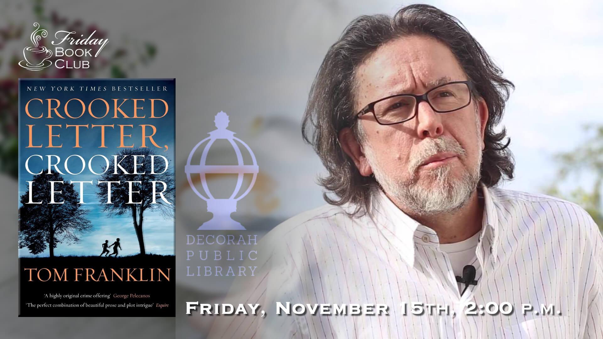 Friday Book Club Nov. 15