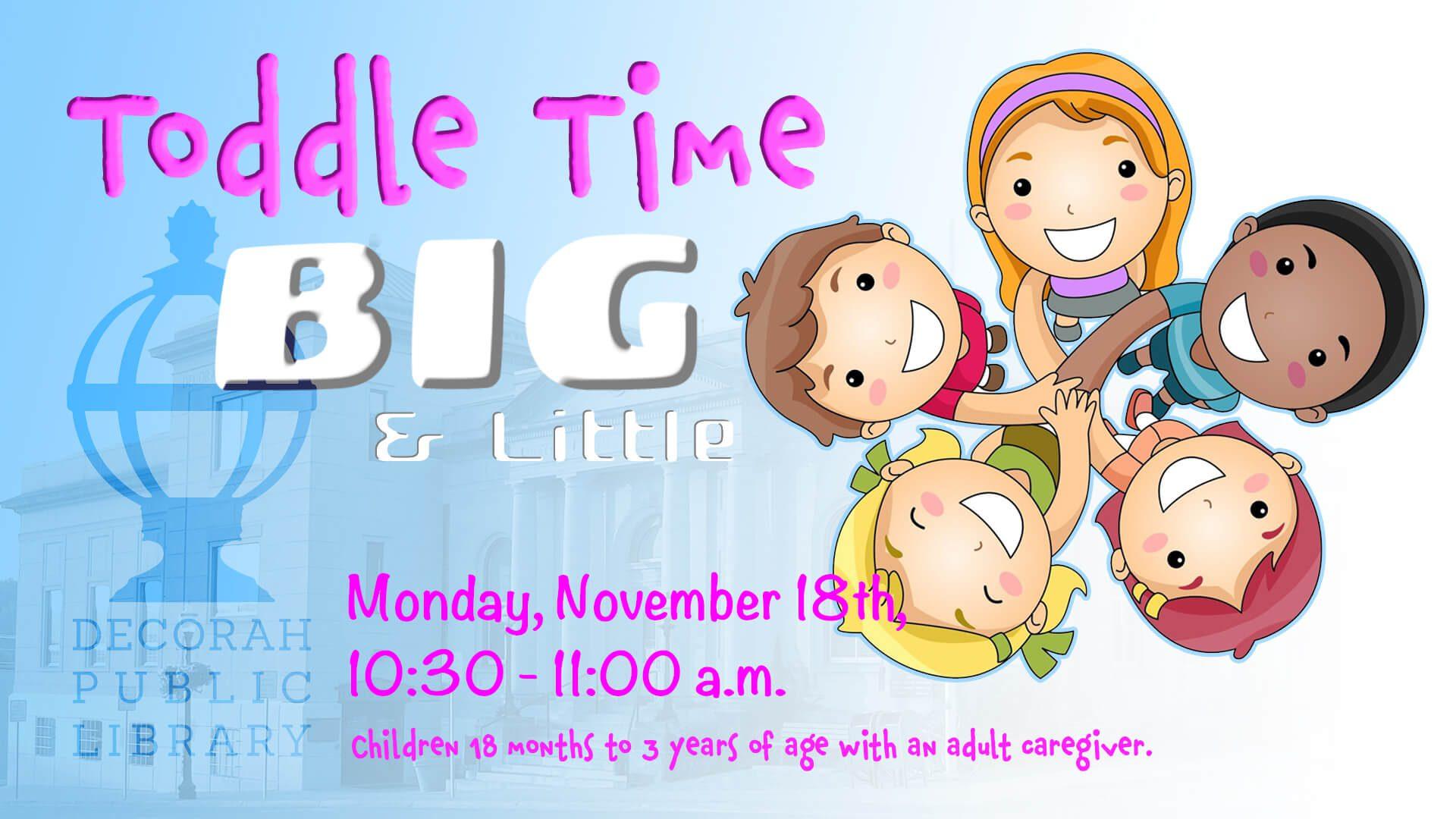 Toddle Time Nov. 18