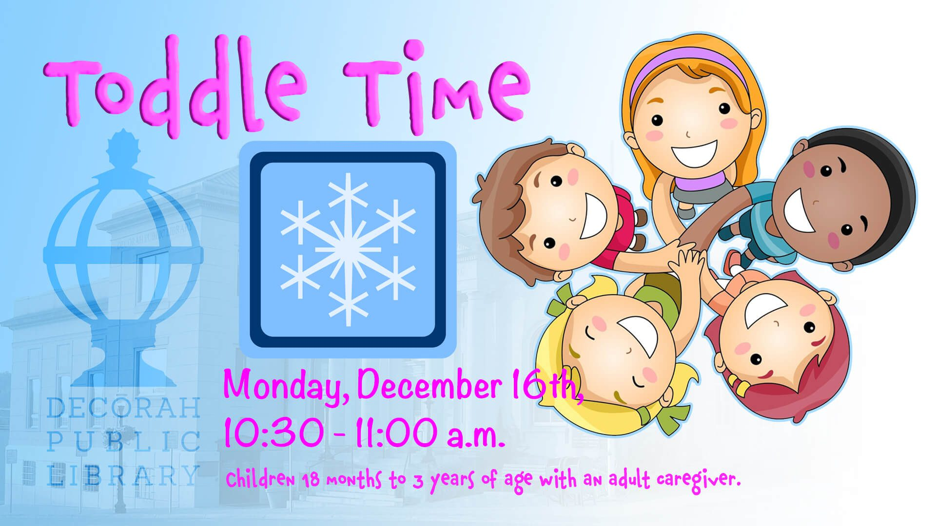 Toddle Time Dec 16