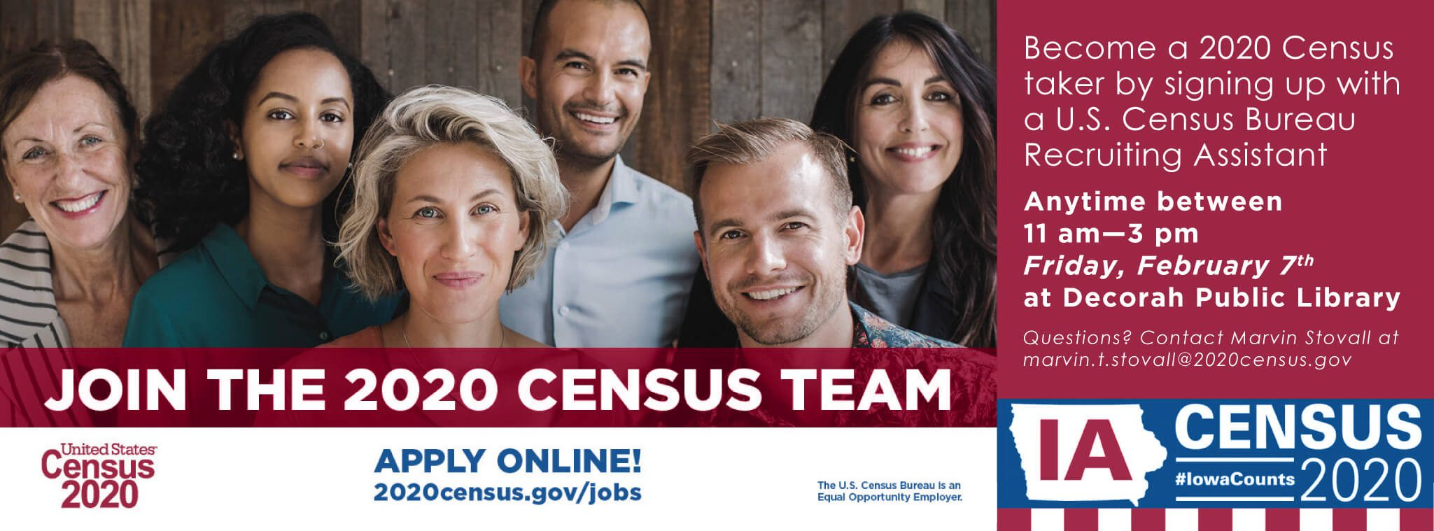 2020 Census Recruitment Day