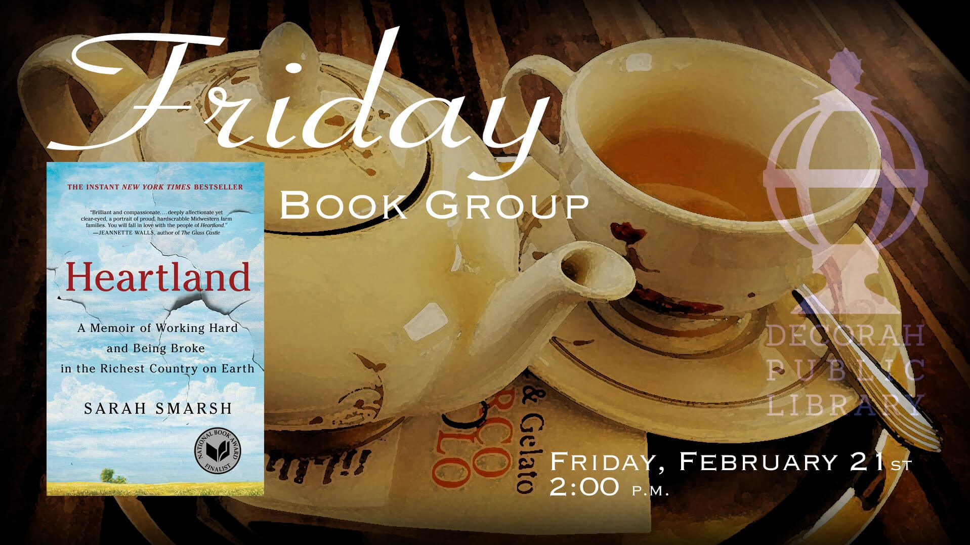 Friday Book Group Feb 2020