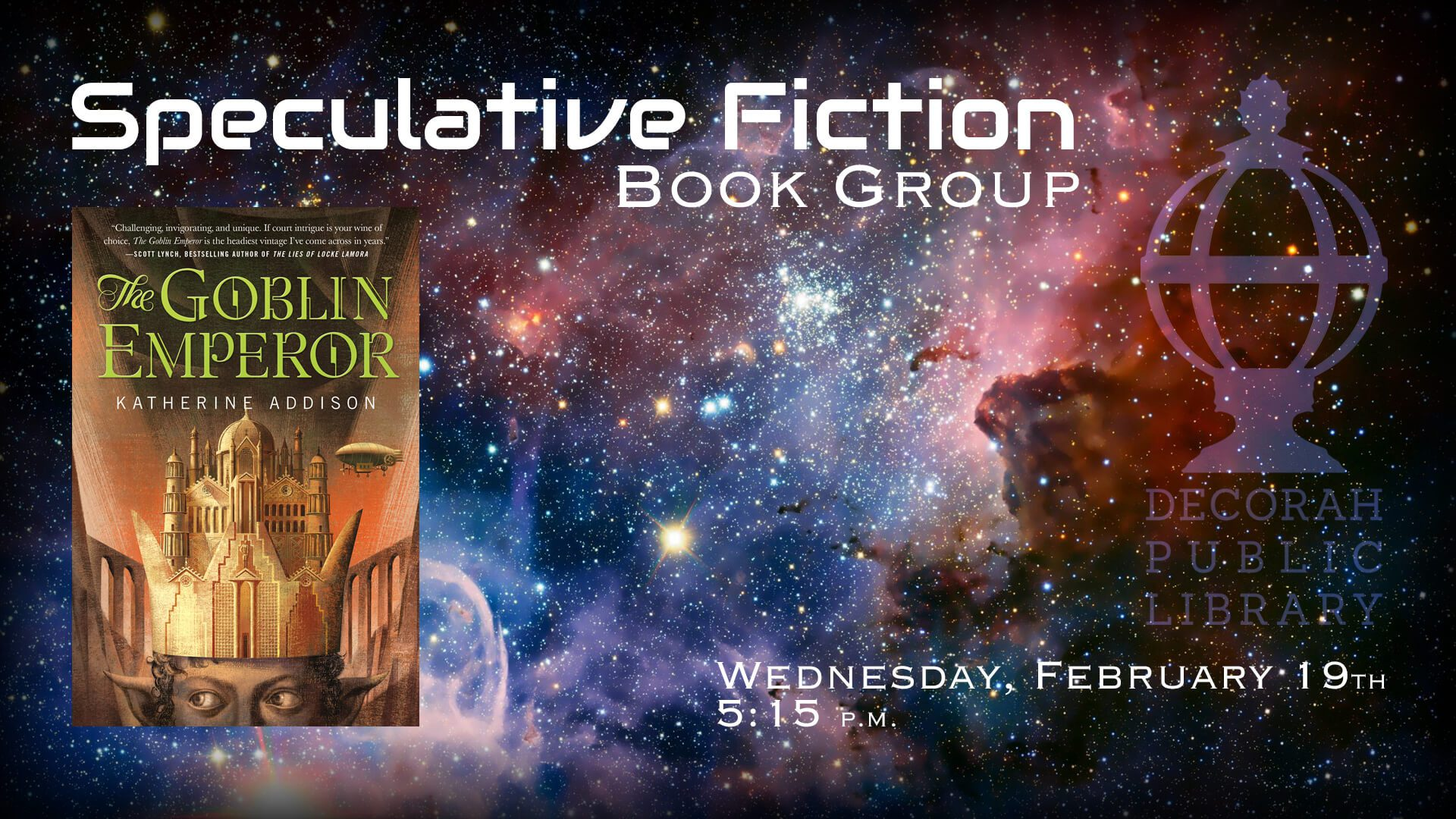 Speculative Fiction Book Group