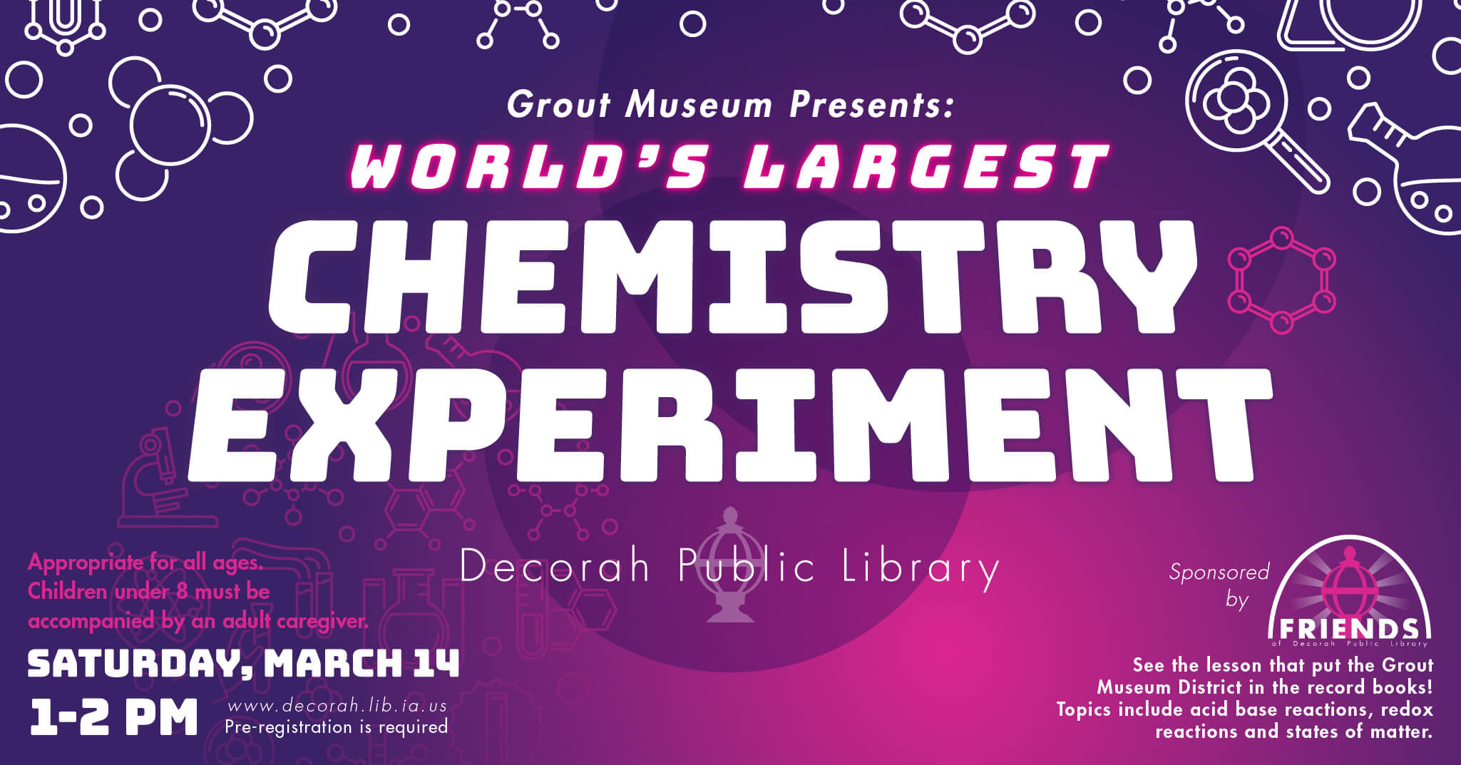 Worlds Largest Chemistry Experiment