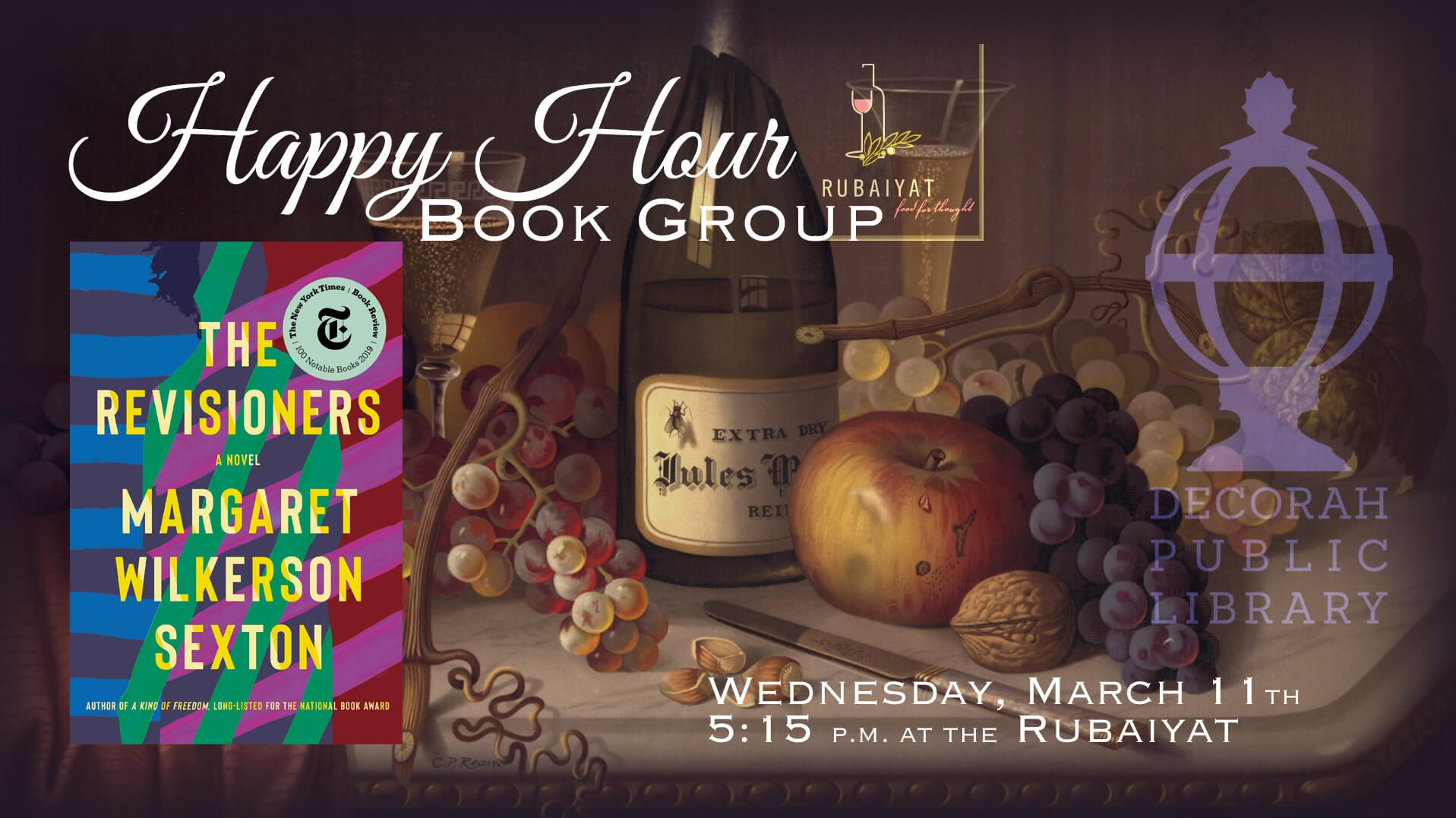 Happy Hour Book Group DPL