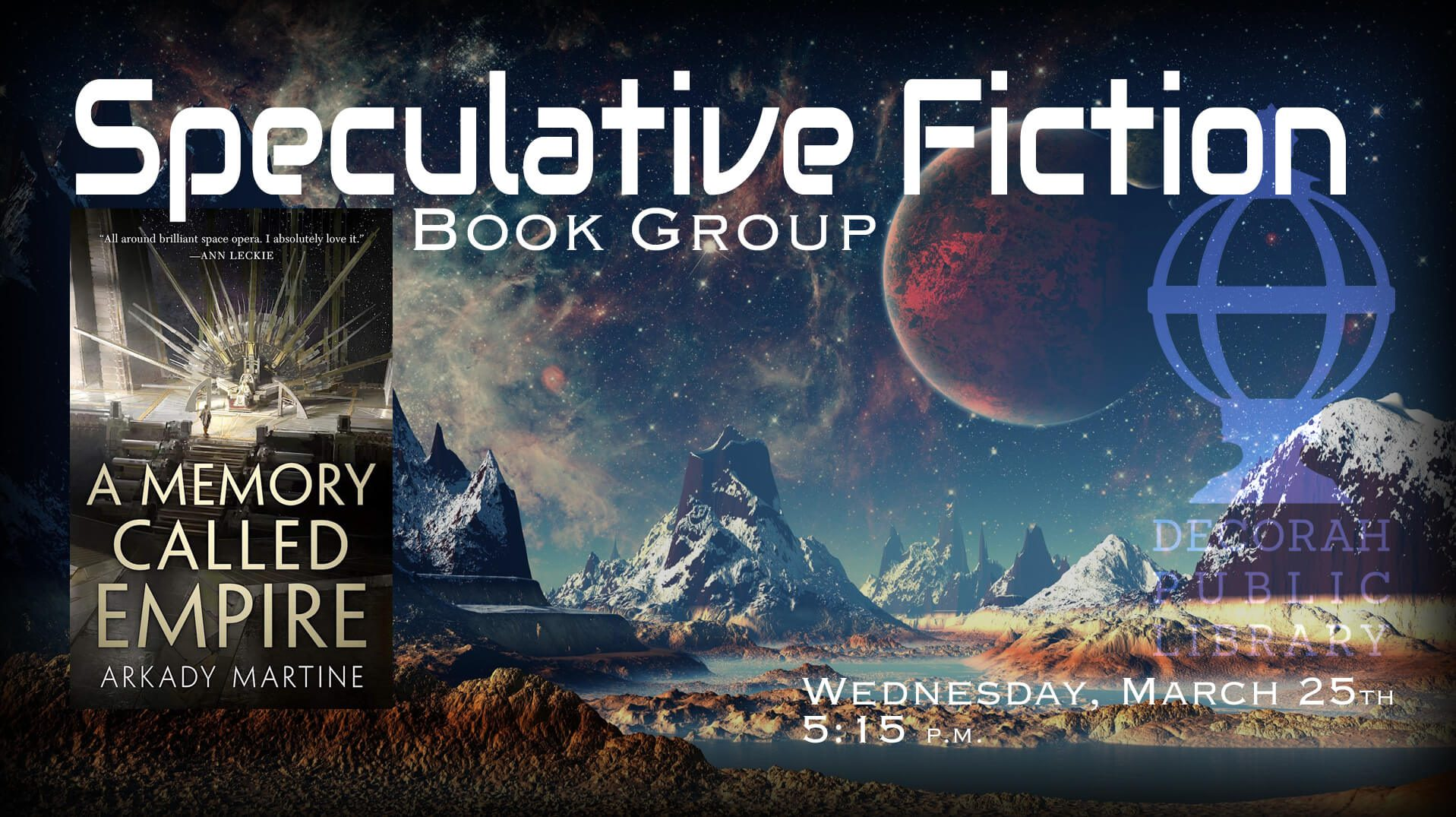 Speculative Fiction Book Group DPL