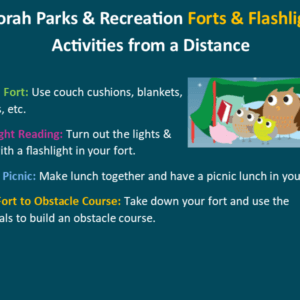 Park Rec Activities From A Distance March 19th