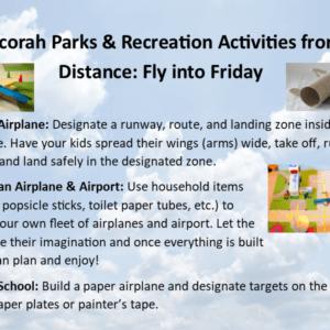 Park Rec Activities from a Distance April 3