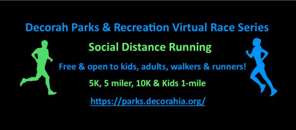 Park Rec virtual race series
