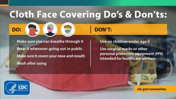 Mask Dos and Don'ts