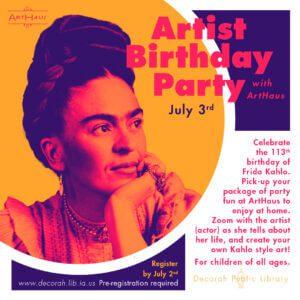 artist birthday frida kahlo