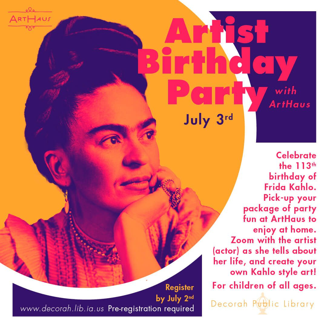 artist birthday frida kahlo