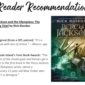 Reader Recommendation The Lightning Theif