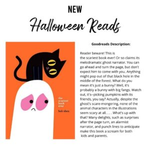 Halloween reading recommendations
