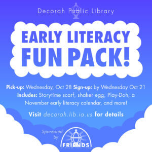 Early Literacy Fun Packs