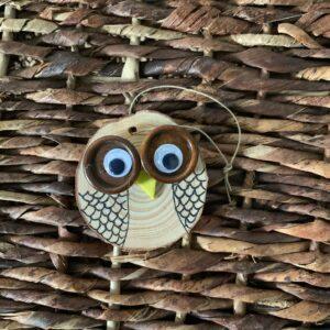 11/30: Take-and-Make Monday: Owl Ornaments
