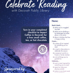 Decorah Public Reading Celebrate Reading Checklist