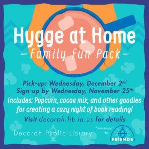 Hygge at Home Family Fun Packs
