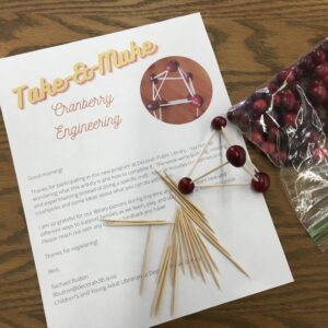 Take-and-Make Cranberry Engineering