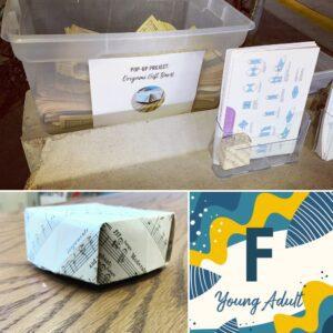 YA Friday origami gift boxes