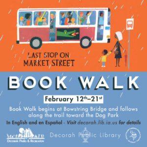 Book Walk Feb 12-21