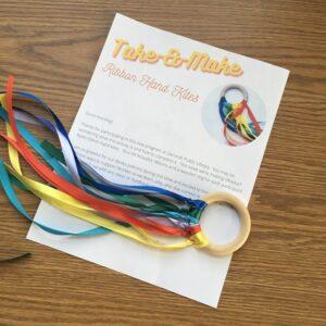 Ribbon Hand Kite Take and Make